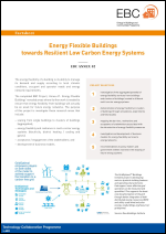 Factsheet: Energy Flexible Buildings Towards Resilient Low Carbon Energy Systems